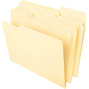 Universal One 1/3 Cut Top Tab Heavyweight Legal File Folder 50 pk.