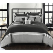 Chic Home Falcone 10 pc. Bed in a Bag Set