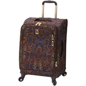 London Fog Soho 360 UL Collection 21 In. Expandable Spinner Carry On