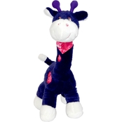 Bear Forces of America 14 in. Plush Purple Giraffe