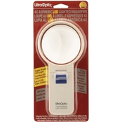 UltraOptix 3 in. Round LED Lighted 4x Magnifier