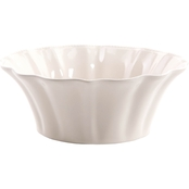 Pioneer Woman Paige Serving Bowl, White