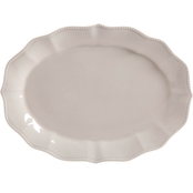 Pioneer Woman Paige Serving Platter, White