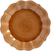 Pioneer Woman Paige 10.75 in. Dinner Plate, Tan