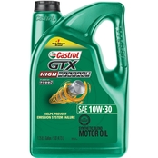 Castrol GTX High Mileage 10W-30 Part Synthetic Motor Oil