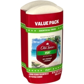 Old Spice Fiji with Palm Tree Deodorant for Men Twin Pack