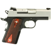 Sig Sauer 1911 UC 9mm 3.3 in. Barrel 8 Rnd 2 Mag NS Pistol Two Tone