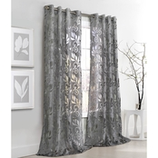 Commonwealth Home Fashions Amelia Grommet Top Drapery Panel