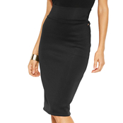 Thalia Sodi Solid Scuba Pencil Skirt