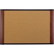 3M Graphite-blend Cork Board, 36 in. x 24 in.