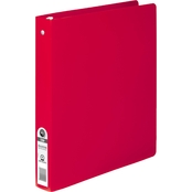 ACCO ACCOHIDE Poly Round Ring Binder, 35-pt. Cover, 1 in. Cap