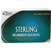 Alliance Sterling Rubber Bands, 1lb. Box