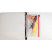 Angler's Zip-All Ring Binder Pocket, 6 In. x 9 1/2 In.