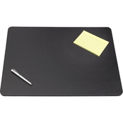 Artistic Sagamore Desk Pad with Decorative Stitching, 36 in. x 20 in.
