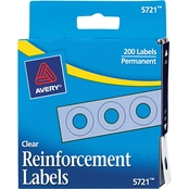 Avery Binder Hole Reinforcements 1/4 in. 200 Pk.
