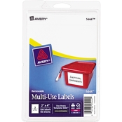 Avery Removable Multi-Use 1/2 x 3/4 In. Labels 100 Pk.