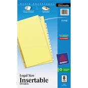 Avery Insertable Big Tab Legal Size Dividers