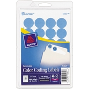 Avery Removable 3/4 In. Round Color Coding Labels 1008 Pk.