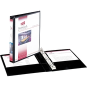 Avery Mini Size Durable View Binder with 1/2 In. Round Rings