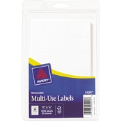 Avery Removable 5/8 x 7/8 In. Multi-Use Labels 1050 Pk.