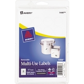 Avery Removable 3/4 In. Round Multi-Use Labels 1008 Pk.