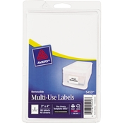 Avery Removable 3 x 4 In. Multi-Use Labels 80 Pk.