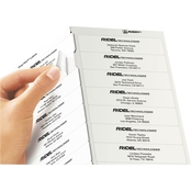 Avery Easy Peel Laser Address Labels, 1 in. x 4 in., 500 Pk.