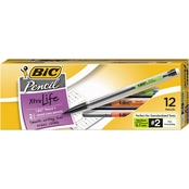 BIC Mechanical Pencil Xtra Life, .7mm, 12 Pk.