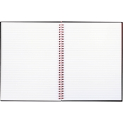Black n' Red Twin Wire Hardcover Legal Rule 8 1/2 x 11 in. Notebook