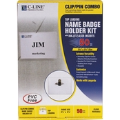 C-Line Name Badge Kits
