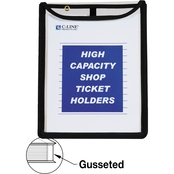 C-Line Stitched Top High Capacity Shop Ticket Holder 15 Pk.