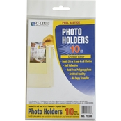 C-Line Peel & Stick Photo Holders