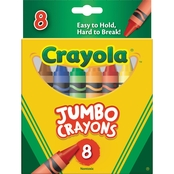 Crayola Jumbo Crayons & Color Pencils 8 Pk.