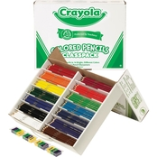Crayola Colored Woodcase Pencil Classpack, 14 Assorted Color Sets in Box
