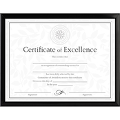 DAX 8 1/2 x 11 In. Value U-Channel Document Frame