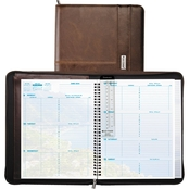 Day-Timer Weekly Coastlines 8 1/2 in. x 11 in. 2016 Notebook Organizer