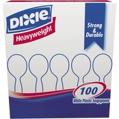 Dixie Plastic Cutlery Heavyweight Soup Spoons 100 Pk.