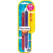 Paper Mate Inkjoy Gel Pen, Red and Assorted 2 Pk.