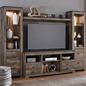 Ashley Trinell Entertainment Wall