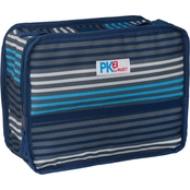PackIt PK2 Freezable Classic Lunch Box, Blue Stripes