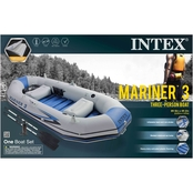 Intex Recreation Professional Series Mariner 4 Boat Set