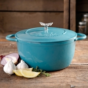 Pioneer Woman 5 Qt. Casserole, Turquoise