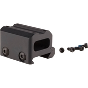 Trijicon Miniature Rifle Optic Mount Full Co-Witness, fits Trijicon MRO, Black