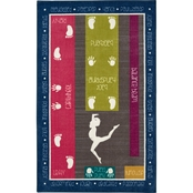 Mohawk Home Gymnastics Fun Area Rug