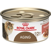 Royal Canin Feline Health Nutrition Aging Thin Slices in Gravy Cat Food