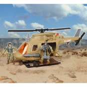 Excite U.S. Army Chopper with Soldiers Playset