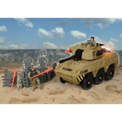 Excite U.S. Army Heavy Urban Tank with Light and Sound Playset