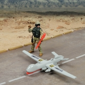 Excite U.S. Army Drone Playset