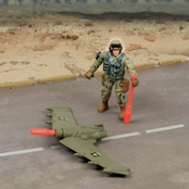 Excite U.S. Army Jet Playset