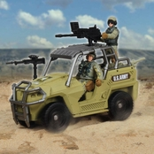 Excite U.S. Army Sand Vehicle Playset
